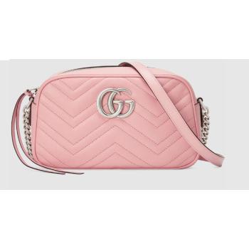 Gucci GG Marmont Matelasse Shoulder Bag 447632 light pink