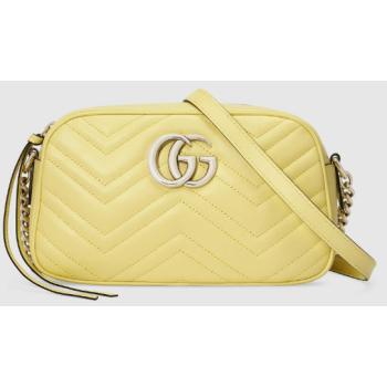 Gucci GG Marmont Matelasse Shoulder Bag 447632 yellow