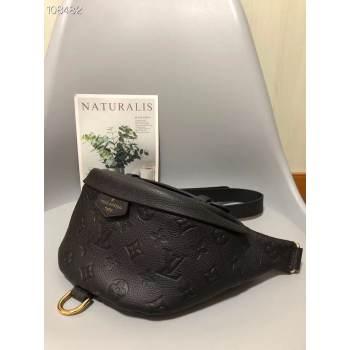 Louis Vuitton Monogram Canvas Original Leather Beltbag M55426 Black