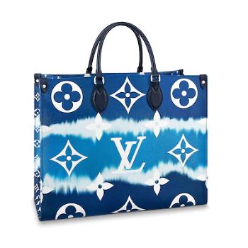 Louis Vuitton Monogram Canvas Original ONTHEGO M45119 blue