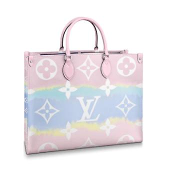 Louis Vuitton Monogram Canvas Original ONTHEGO M45119 pink