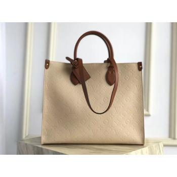 Louis Vuitton ONTHEGO M44578 Cream