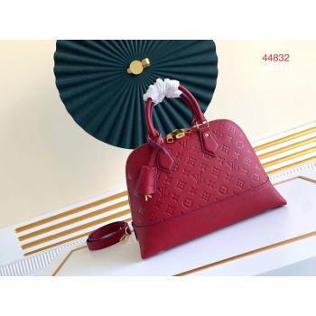 Louis Vuitton Original Monogram Empreinte NEO ALMA PM M44832 red