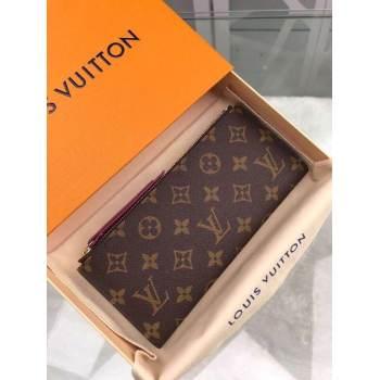 Louis Vuitton Original Zipper Wallet M55556
