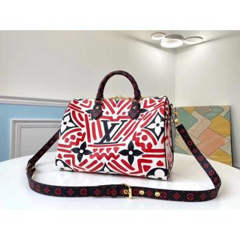 Louis Vuitton SPEEDY BANDOULIERE 30 M44572 red