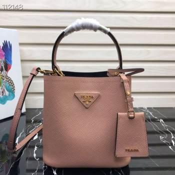 Prada Panier small Original Saffiano Bag 1BA217 Pink