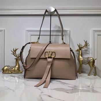VALENTINO Origianl Leather Bag V0012 Nude