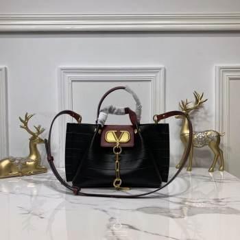 VALENTINO Origianl Leather Bag V0052H Black
