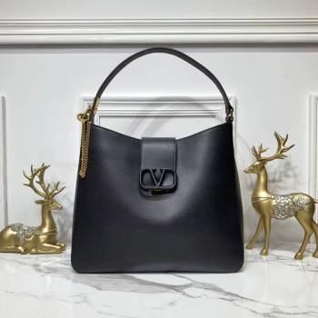 VALENTINO Origianl Palm Leather Bag V5002 Black